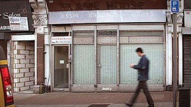 File photo of Muslim Brotherhood headquarters taken on April 1, 2014, in Cricklewood, London. (Asharq Al-Awsat/James Hana)