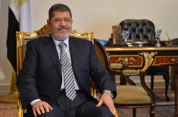 Egyptian President Mohamed Mursi.Source: KHALED DESOUKI/AFP/Getty Images